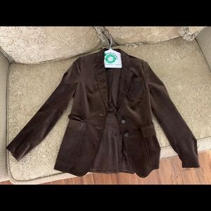 Brown Suede Gucci Jacket